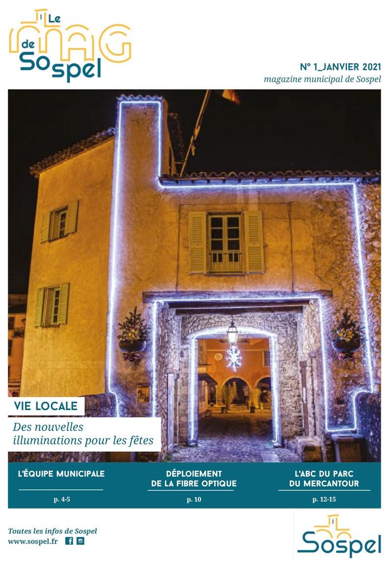 Magazine Municipal de Sospel 01/01/2021